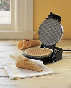 Waffle cone maker. Yes please