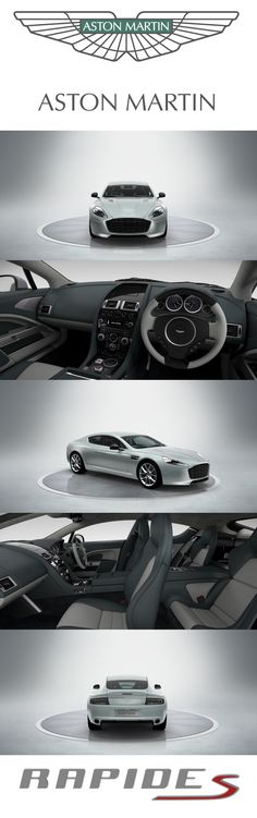 Aston Martin Rapide S. Design your dream Aston Martin with our configurator. http://www.astonmartin.com/configure #AstonMartin