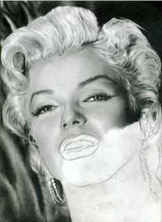 Stars Portraits - Marilyn Portrait Tutorial tutorial