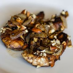 Balsamic Glazed Almond Crusted Chicken #paleo #whole30recipes