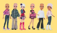 Bald Bratz and Moxie dolls for children suffering through cancer and alopecia
