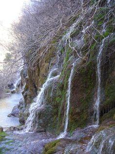 Nacimiento del Río Cuervo, Cuenca,Spain