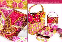 Cute gift bags tutorial