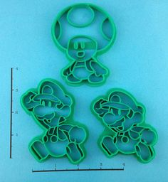Paper Mario Cookie Cutter Set by WarpZone on Etsy, $16.00