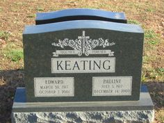 Tombstone Tuesday: Keating #genealogy #familyhistory