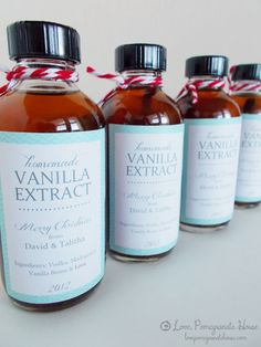 Homemade Vanilla Extract | Love, Pomegranate HouseLove, Pomegranate House