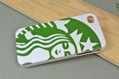 Starbucks Protective Back Case for iPhone4 4s - Apple Accessories - Funny Gadgets Free shipping