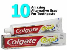 10 Amazing Alternative Uses For Toothpaste 10 amaz, amaz altern, toothpast, fyi, hometipsworld