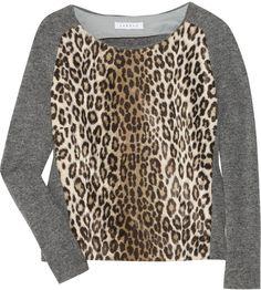 Leopard print.