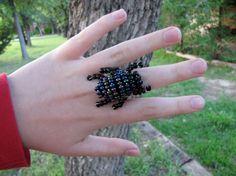 Luna's Beetle Ring