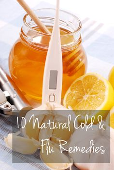 10 Natural Cold & Flu Remedies