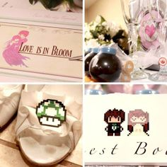 Video game themed wedding -- from Final Fantasy invites to 1-Up heels