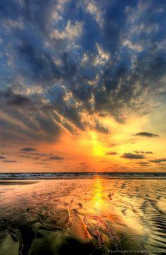 Canoa Beach, Ecuador, Canoa, Ecuador sunset, beach