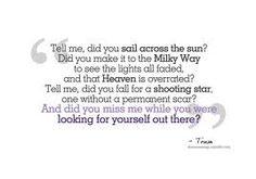 lovely lyrics on pinterest drops of jupiter maroon 5