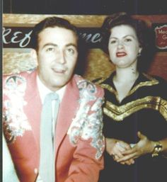 Patsy Cline with Faron Young
