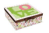 Share The Love Paper Maché Box #Valentines