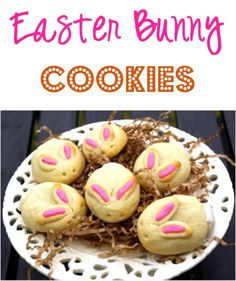 Easter Bunny Cookies Recipe! #bunnies #cookie #recipes