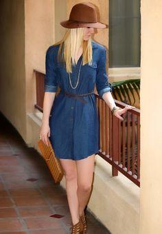 Stylish Outfit: Denim All Around