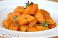 Sweet Potato Gnocchis.