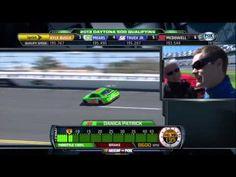 [HD] Danica Patrick - Daytona 500 2013 Pole Lap
