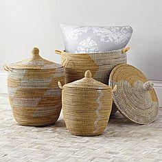 Senegalese Storage Baskets