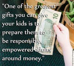 Raising Kids with Healthy Money Beliefs