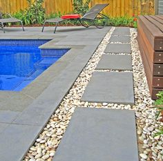 Pavers by the pool!