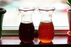 weck jars just the right size for maple syrup.
