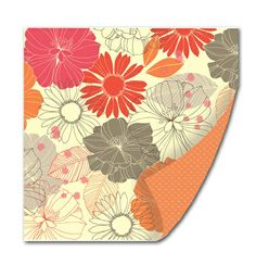 Claire Charming Foil-accented Pattern Paper by SEI