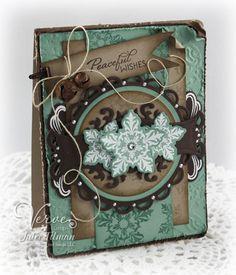 Holiday Snowflakes...pretty!