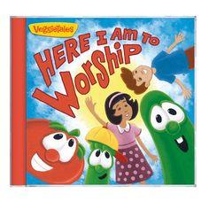 Veggie Tales Worship CD....