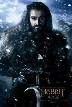 The Hobbit Thorin Poster
