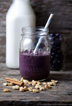 Anti-Inflammatory Blueberry Smoothie