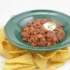 Three-Bean Pantry Chili
