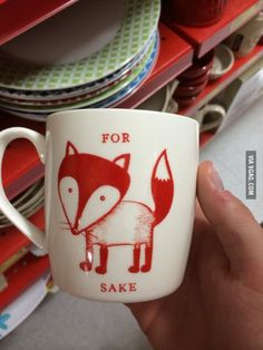 I could not want this more. For Fox Sake