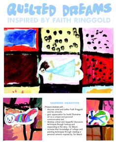 "A primary-level art lesson from our April 2008 issue, inspired by the book, ""Tar Beach,"" by Faith Ringgold. art lesson"