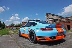 """Ultraleggera HLT 19"""" on Porsche 911 (997)"""