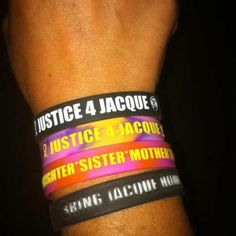 Justice for Jacque Bracelets