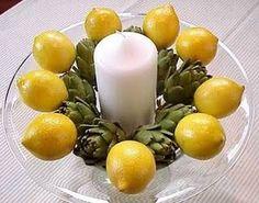 lemons and artichokes