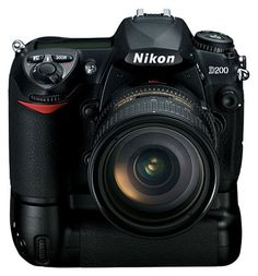 Nikon D200, my trusty backup
