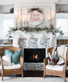 House of Turquoise: Turquoise Holiday Decor