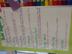 The second graders are learning to write bold beginnings.
