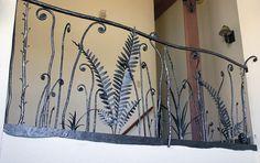 Wrought Iron Ferns