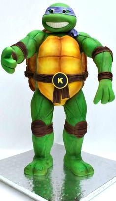 3D Teenage Mutant Ninja Turtle CAKE
