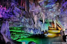 40 beautiful places to visit in China: Benxi Water Cave, Liaoning