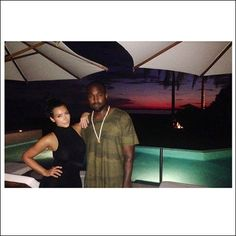 """Kim Kardashian and pals joined Kanye West down in Mexico this weekend -- calling him her """"sexy man"""""""