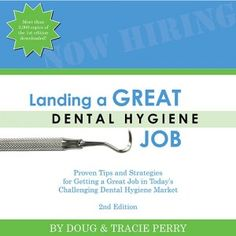 FREE for the month of June 2014 only (ends June 30). Our e-book Landing a Great Dental Hygiene Job. All you have to do is subscribe to our free weekly tips and you get the book plus some other freebies. http://gethiredrdh.com/freetips/