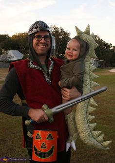 Dragon and Knight DIY Halloween Costumes