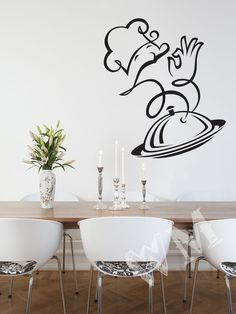 Kitchen Art: Chef Decal