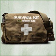 Walking Dead Survival Kit http://www.shopthewalkingdead.com/walking-dead-survival-kit/details/29322111?cid=social-pinterest-m2social-product&current_country=US&ref=share&utm_campaign=m2social&utm_content=product&utm_medium=social&utm_source=pinterest $129.99